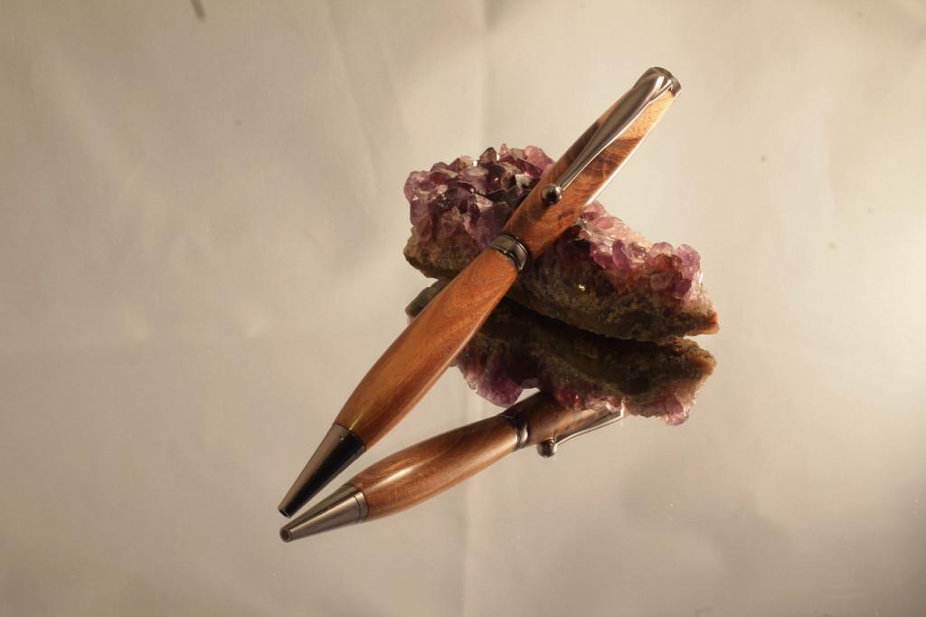 fancy pen goudenregen gunmetal 02