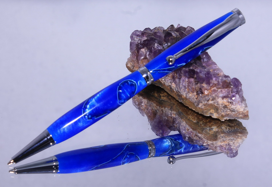 fancypen chrome oceamblue 2